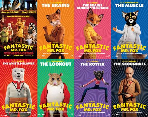racketboy.com • View... The Fantastic Mr Fox Cast