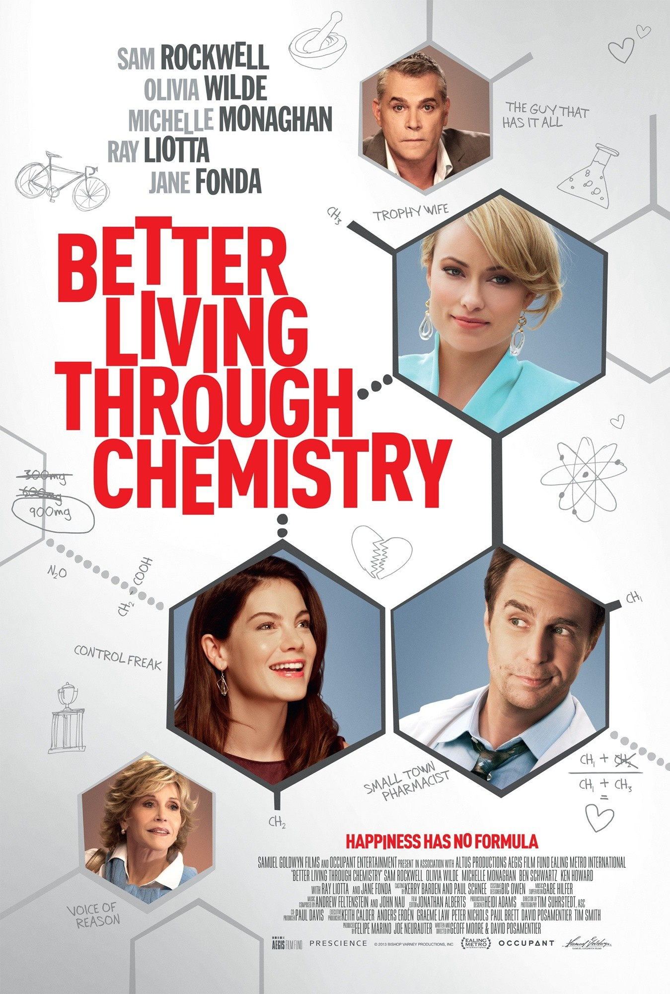 Better Living Through Chemistry Poster