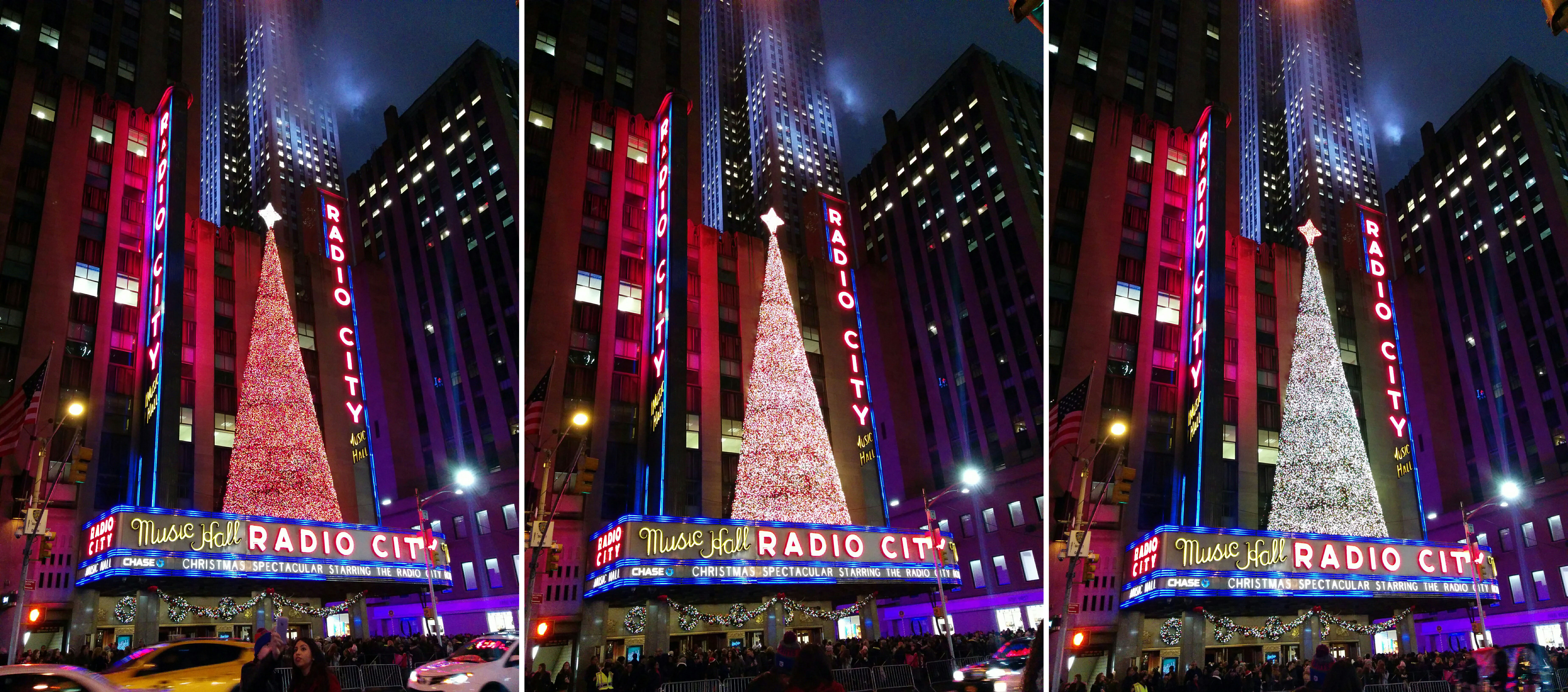 Christmas Tree at Radio City Music Hall