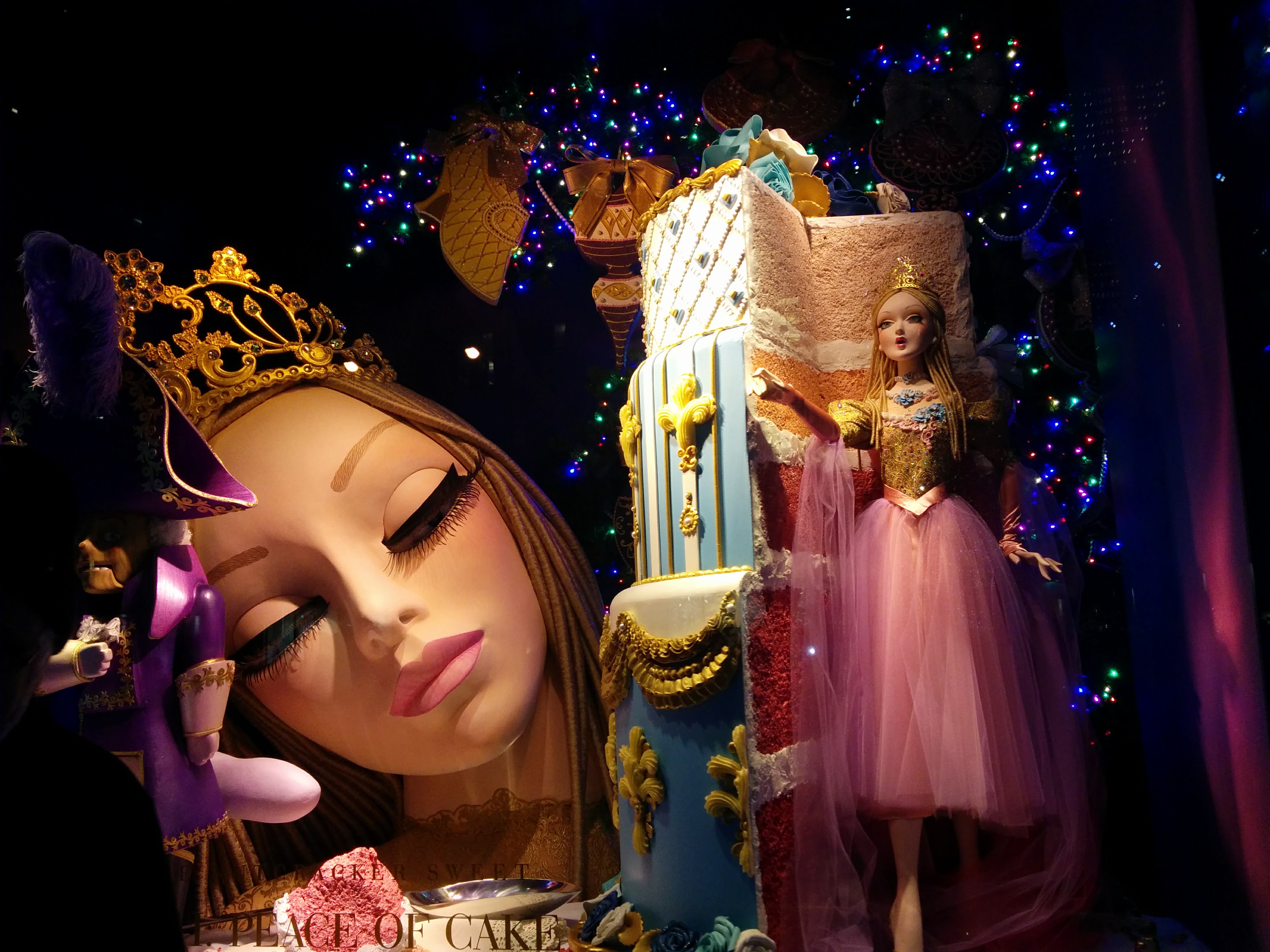 Sacs Fifth Avenue Christmas Window Display