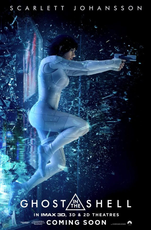 Ghost in the Shell Poster 2017