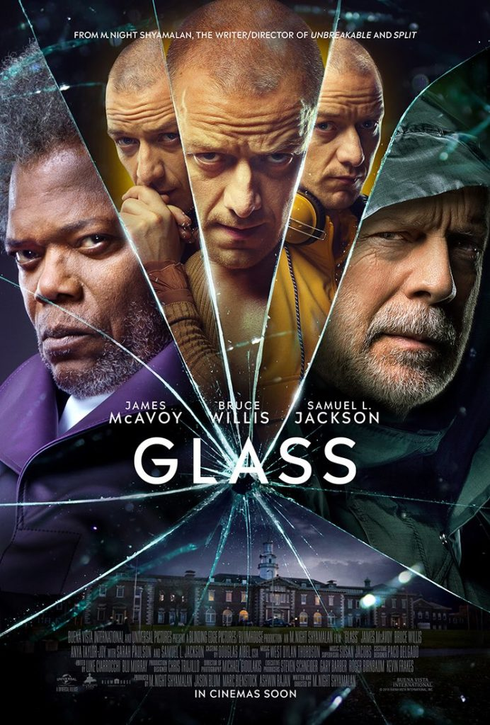 glass 2019 movie poster