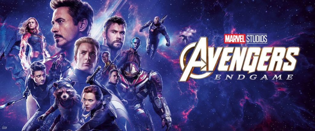 Avengers Endgame movie banner